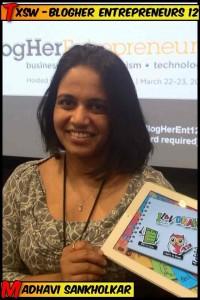 Madhavi Sankholkar, app developer